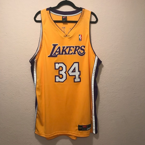 0308114b75e Shaquille O Neal  34 NBA Nike Authentic LA Lakers.  M 5bf9d9e20cb5aa786701172f